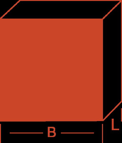 Vierkantstange - Kupfer