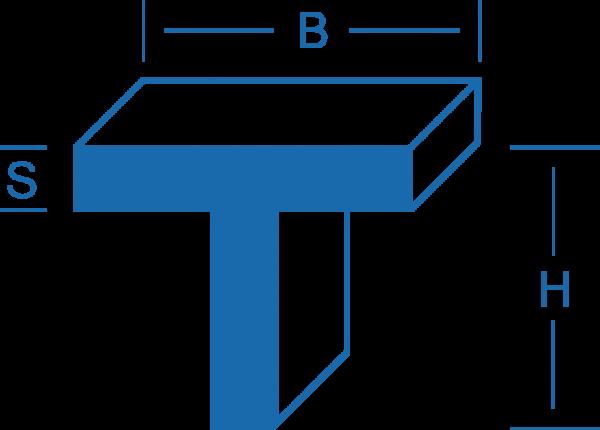 T-Profil - Aluminium
