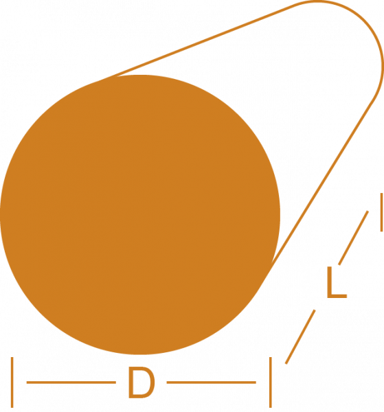 Rundstange - Messing